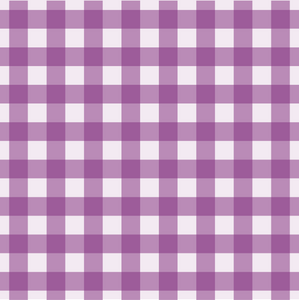 Gingham Design - Purple