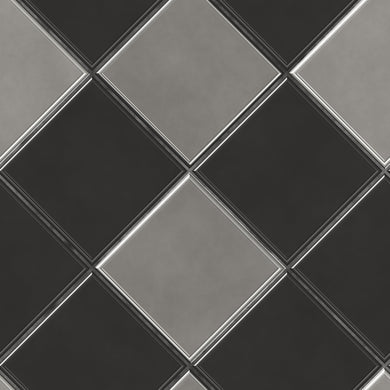 Harlequin - Black and Grey (1.5m Floor and Wall)