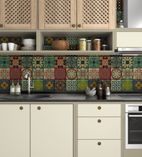 Load image into Gallery viewer, Moroccan Tiles Multi Colour
