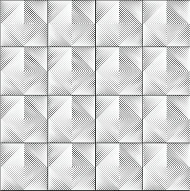 Optical Tiles - White (1m Standard)