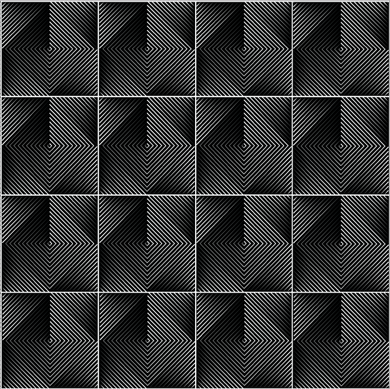 Optical Tiles Black