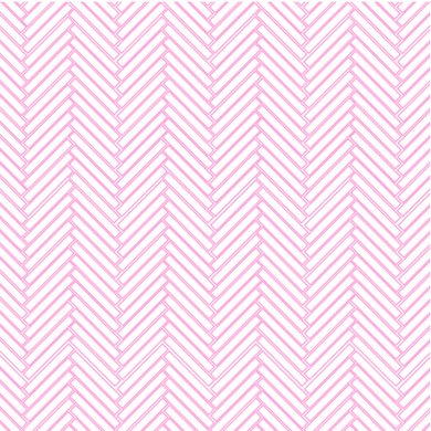 Herringbone Subway Tiles Pink