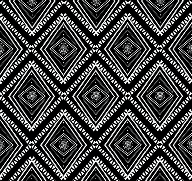 Tribal Black - Floor & Wall