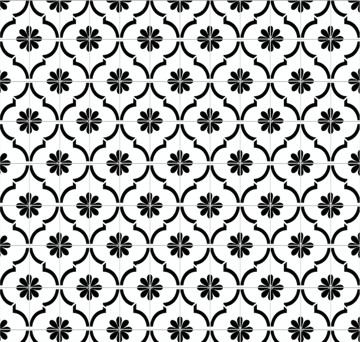 Moroccan Jannah Tiles White - Floor & Wall