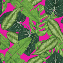Load image into Gallery viewer, Botanical Leaves & Pink - Floor & Wall