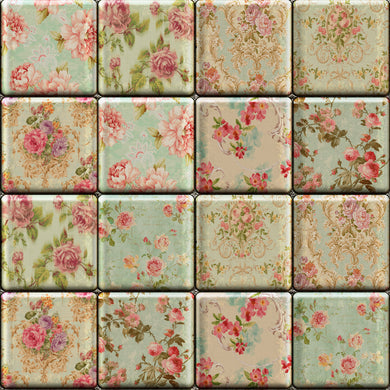 Floral Tiles - Floor & Wall
