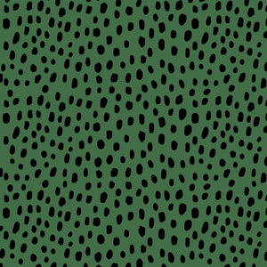 Dalmatian Black & Green - Floor & Wall