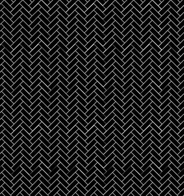Herringbone Black Tiles - Floor & Wall
