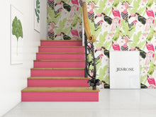 Load image into Gallery viewer, Birds Green & Pink - Floor & Wall