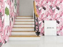 Load image into Gallery viewer, Birds Pink - Floor & Wall