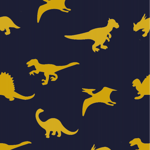 Dinosaur Blue & Yellow