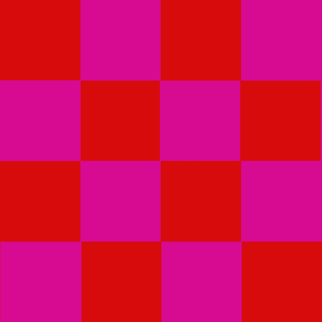 Pink & Red Checked