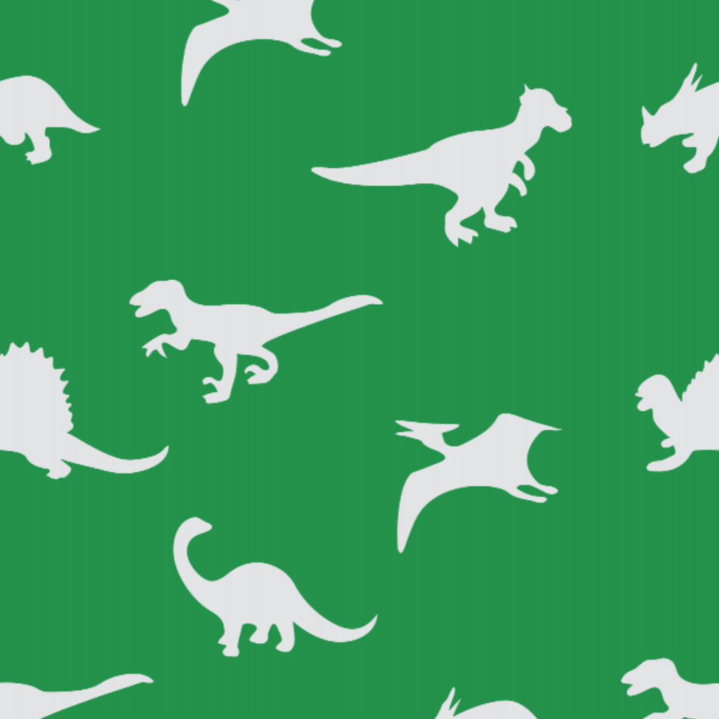 Dinosaur Green - Floor & Wall