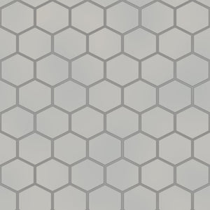 Hexagon Tiles Grey
