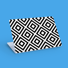 Load image into Gallery viewer, Geometric Squares Vinyl Laptop/Tablet Skin