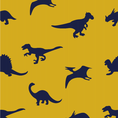 Dinosaur Yellow - Floor & Wall