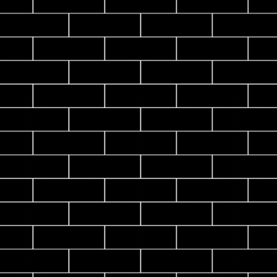 Subway Tiles Black
