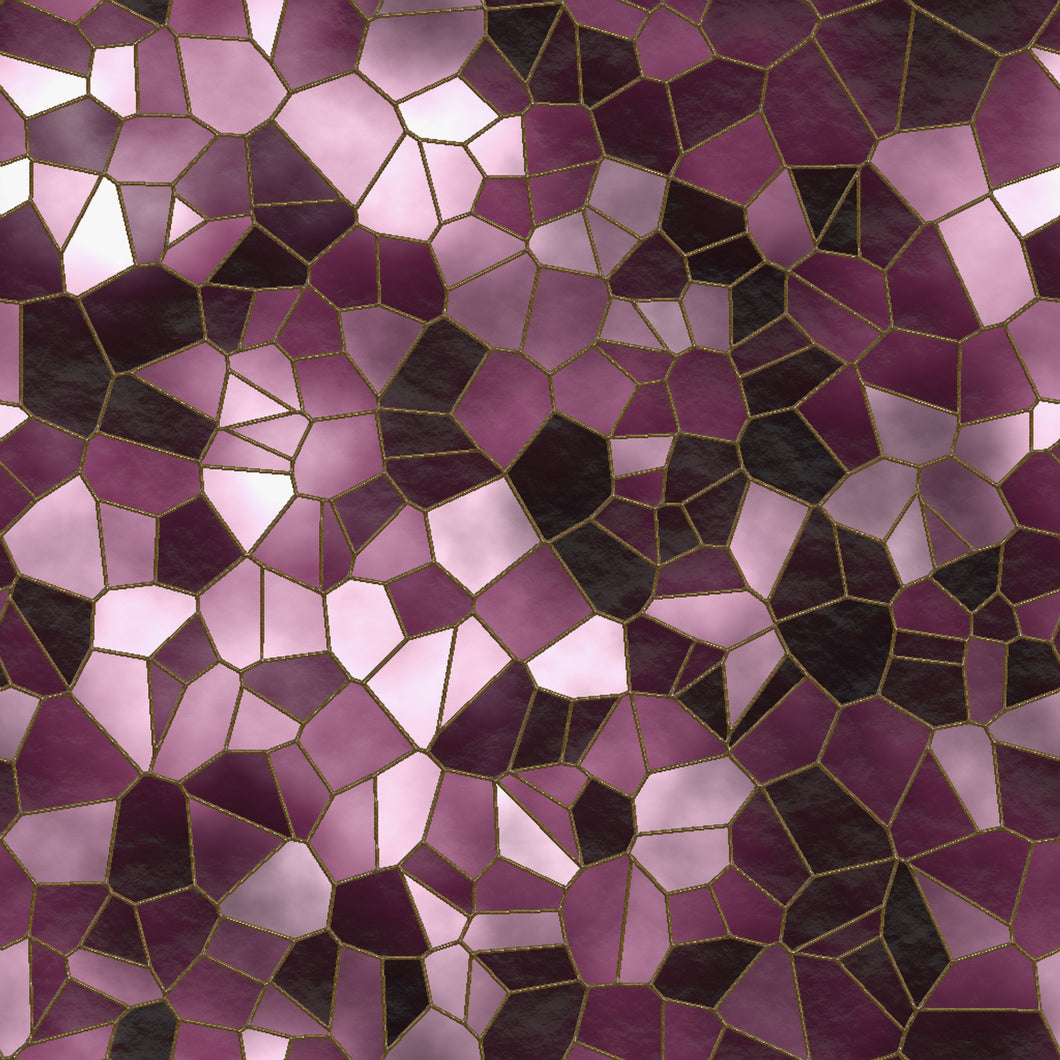 Stained Glass Lilac Sample