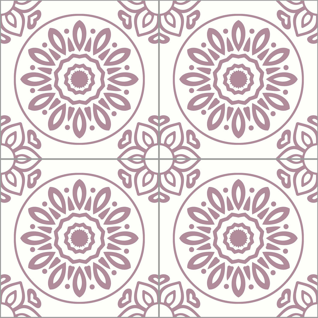 French Tiles Pink