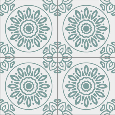 French Tiles Teal