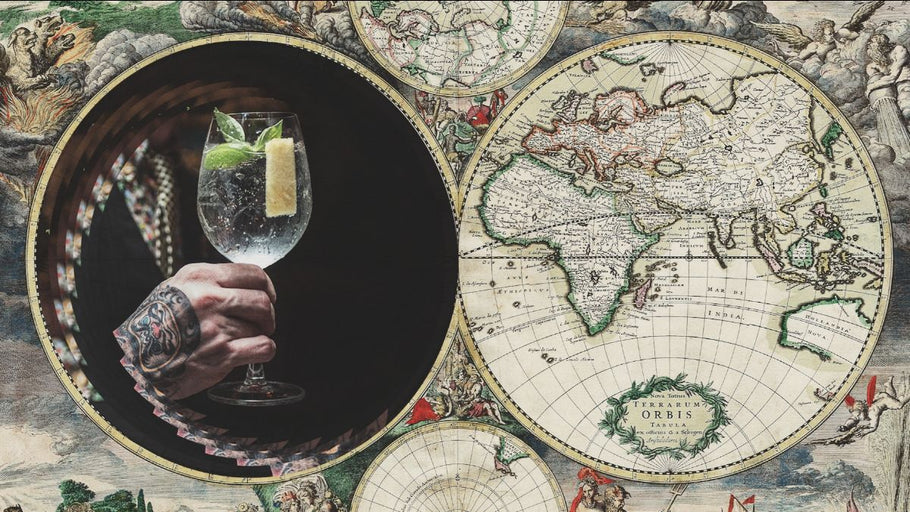 AROUND THE WORLD IN 8 GIN & TONICS