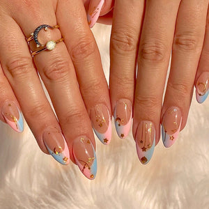 Cosmic Pastel Press On Nail Set