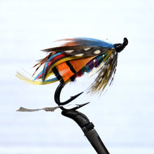 "Load image into Gallery viewer, ""Shannon Butler"" Double Hook, Salmon-fly 5/0"