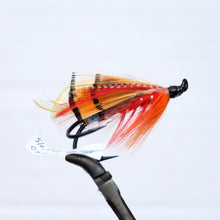 "Load image into Gallery viewer, ""Orange Parson"" Double Hook, Salmon-fly 5/0"