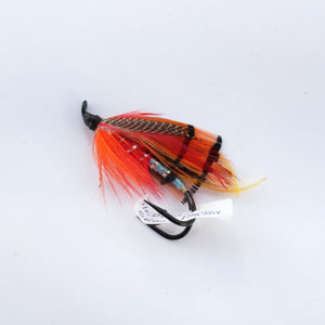 """Orange Parson"" Double Hook, Salmon-fly 5/0"