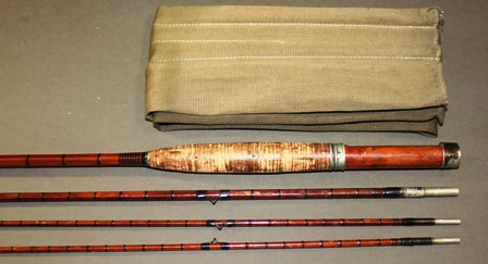 An Early F.E. Thomas 9' Trout Fly Rod With Two Tops