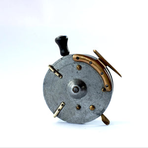 "A Rare 5"" Dingley Pelican Sea Reel W/Line Guide Circa 1930"