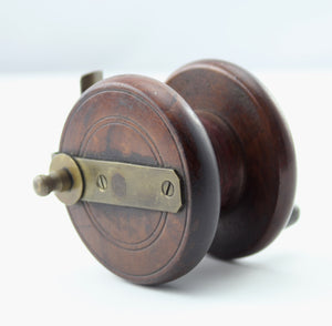 A 2.7/8th Allocks Wooden Reel