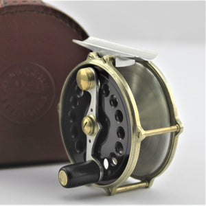 "A 3"" Ted Godfrey Raised Pillar Trout Reel with Westminister Handle (TG001)"