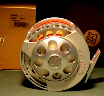 A Boxed English Made Hardy Angel #9/10 Salmon Fly Reel