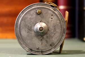 "A Rare 3"" Dingley Fishing Reel ""The Ideal"" Haynes Of Cork"