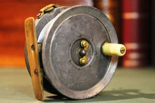 "Load image into Gallery viewer, A Rare 3"" Dingley Fishing Reel ""The Ideal"" Haynes Of Cork"