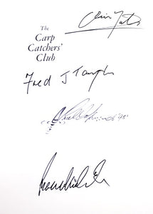 A Signed Copy of The Carp Catchers Club