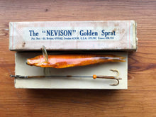 "Load image into Gallery viewer, Allcock's - The ""Nevison"" Golden Sprat Lure"