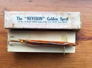 "Allcock's - The ""Nevison"" Golden Sprat Lure"