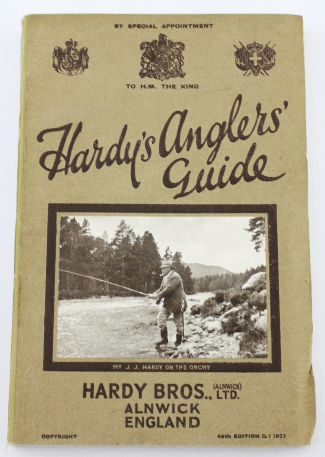 Hardy's Angler's Guide. 1927