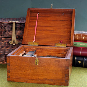 A Rare Mahogany Case, Lake Windermere Char Fishing Box