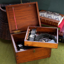 Load image into Gallery viewer, A Rare Mahogany Case, Lake Windermere Char Fishing Box