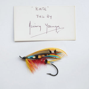 Jimmy Younger, 6/0 Kate Salmon Fly