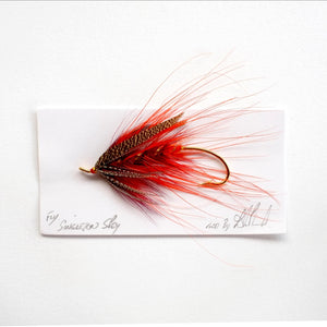6/0 Singleton Spey Salmon Fly, By Davie McPhail