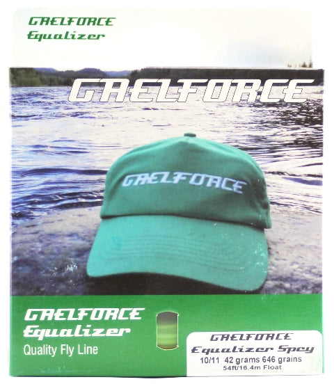 Gaelforce Equalizer Spey 10/11 42 Grams 646 Grains 54ft/16.4 Float