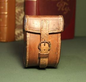 Hardy Block Leather Reel Case
