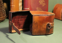 Load image into Gallery viewer, Hardy Leather Reel Case (Fits Reels up to 1.7/8ths x 3.7/8ths)