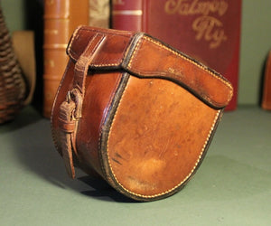 Hardy Leather Reel Case (Fits Reels up to 1.7/8ths x 3.7/8ths)