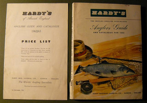 Hardy Anglers Guide 1962 and Price List