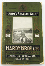 Load image into Gallery viewer, Hardy's 1921 Anglers Guide